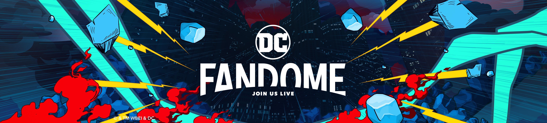 DC FanDome Banner